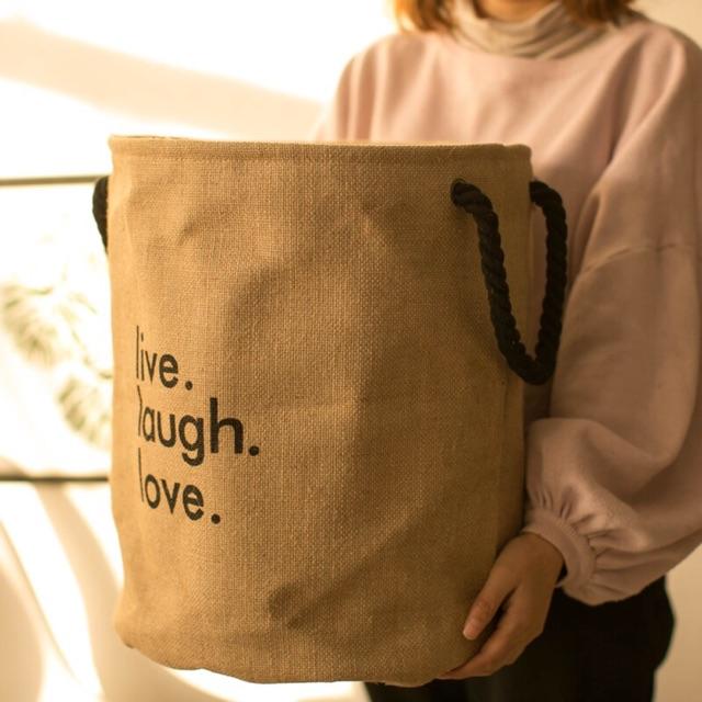 Túi vải bố đựng quần áo